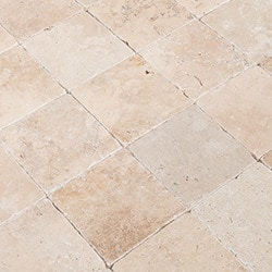 Izmir Travertine Tile Tumbled Model 100878701 Travertine Flooring Tiles