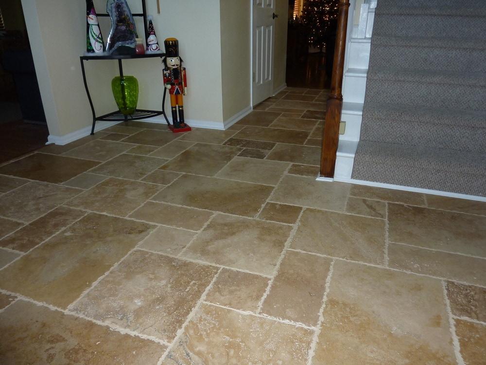 Free Samples Kesir Travertine Tile Antique Pattern Sets