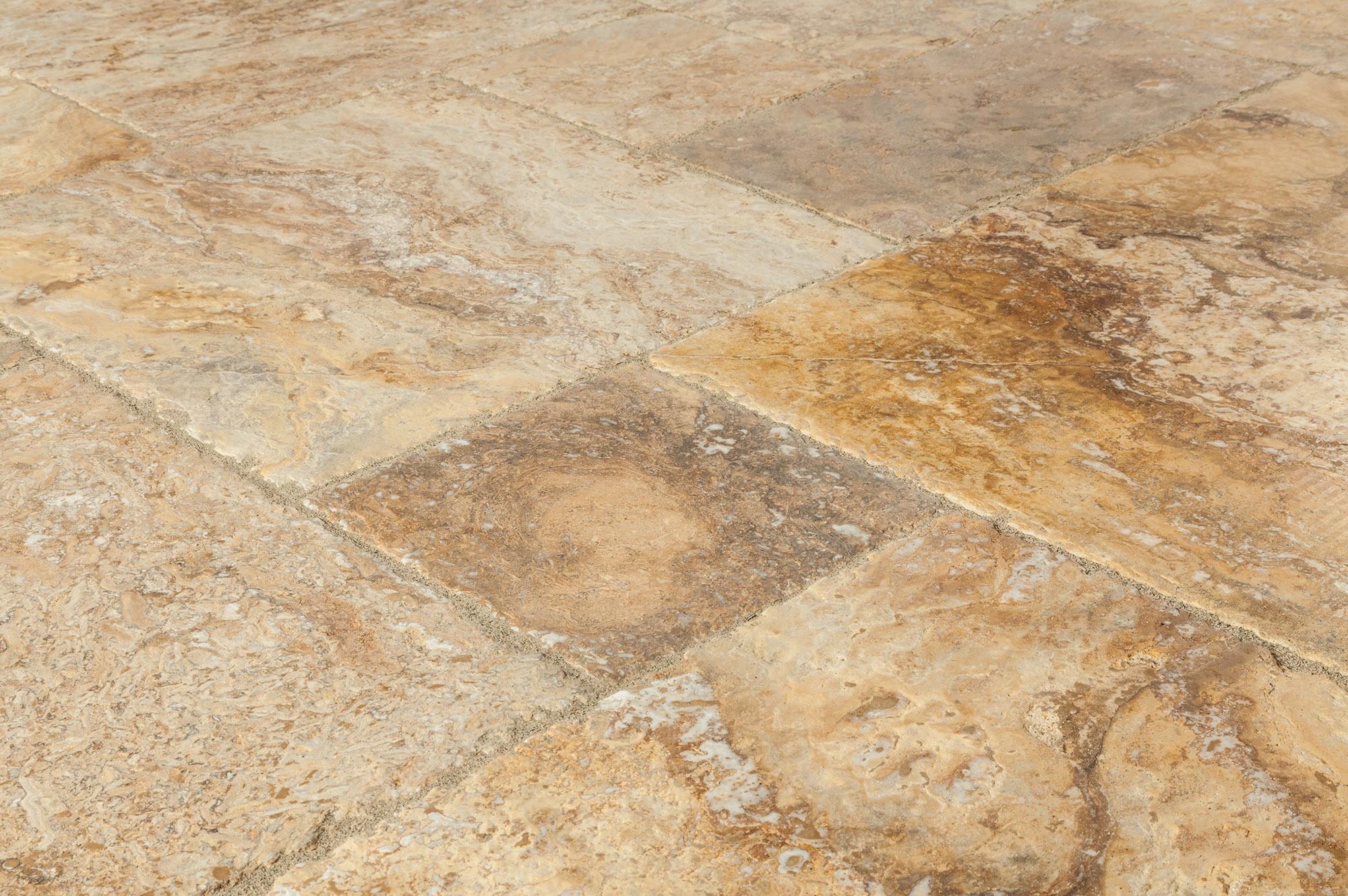 Travertine Tile Product : Kesir travertine tile antique pattern sets scabos