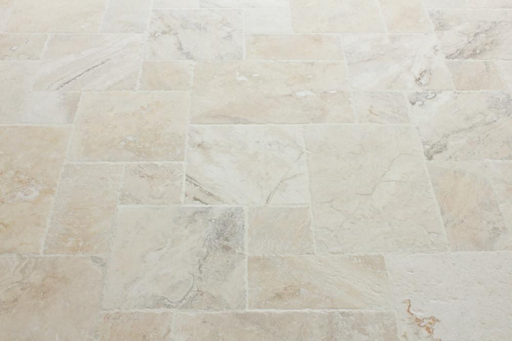 Free samples kesir travertine tile antique pattern sets for Philadelphia flooring