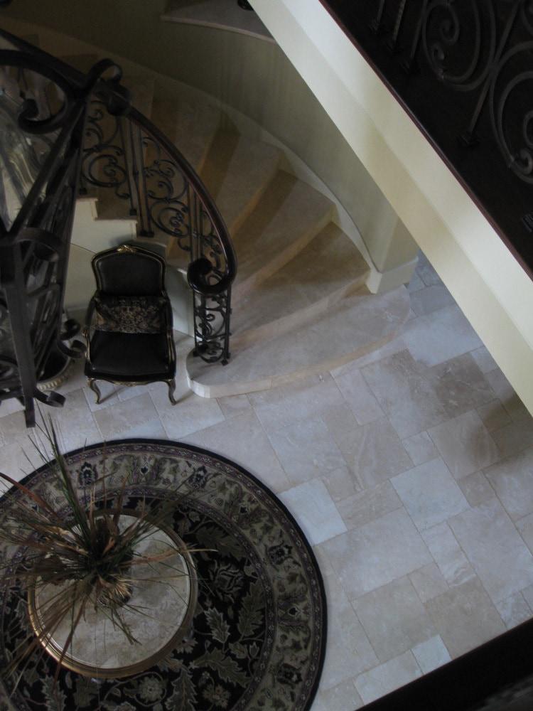 - Denizli Beige Standard / Antique Pattern / Brushed, Chiseled, and Partially Filled - sku:10071438