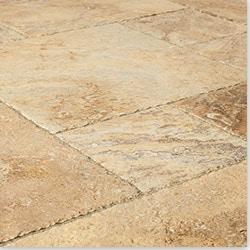 Kesir Travertine Tile Brushed & Chiseled Model 100951971 Travertine Flooring Tiles