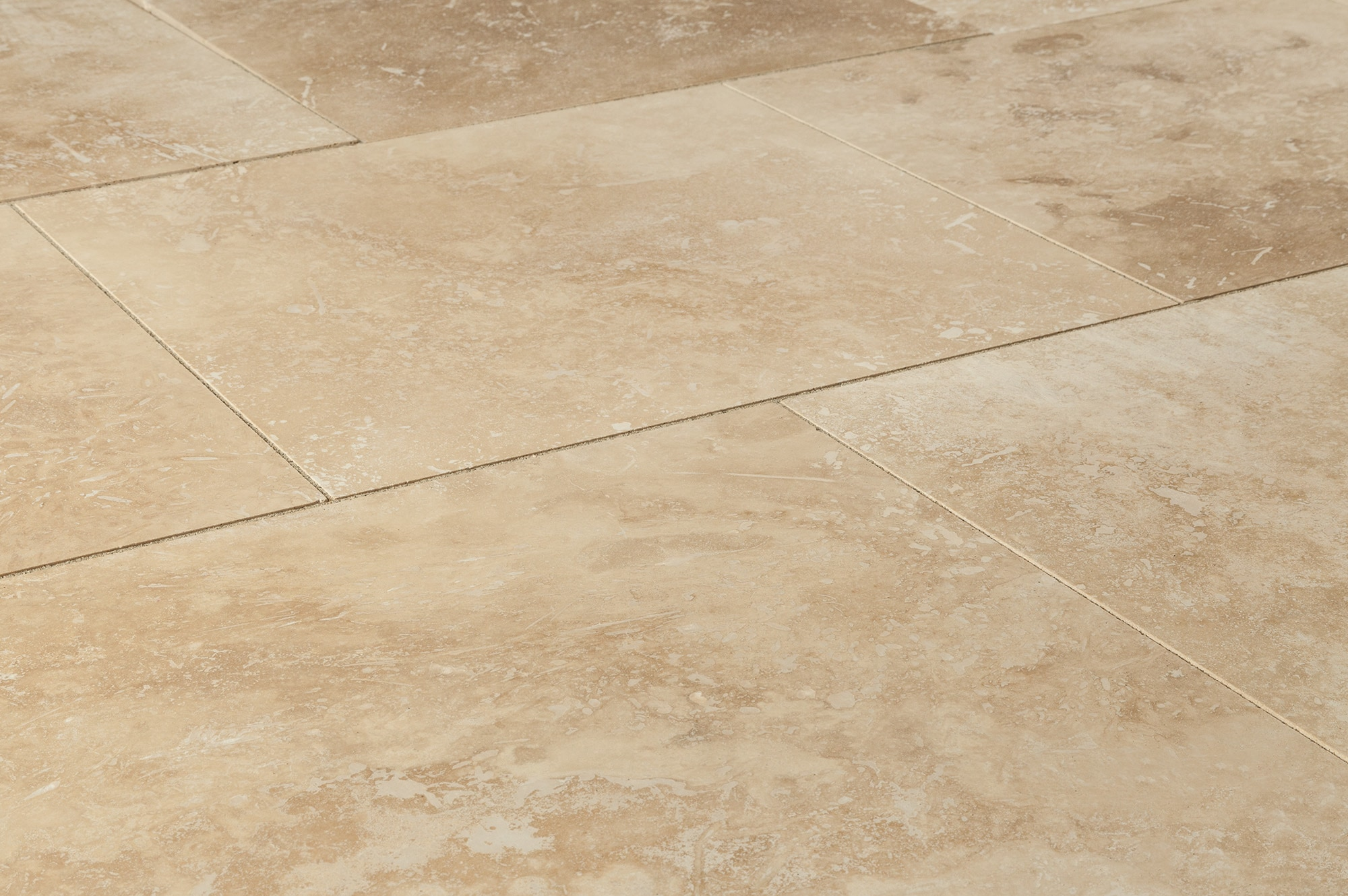 Kesir Travertine Tiles Honed And Filled Oasis Beige Premium 18 X18 X1 2