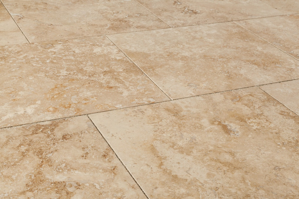Kesir Travertine Tiles Honed And Filled Oasis Walnut