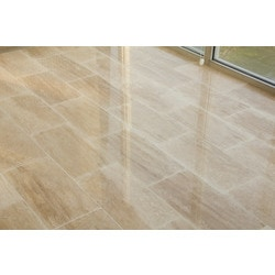 Free Samples Kesir Travertine Tile Polished Beige