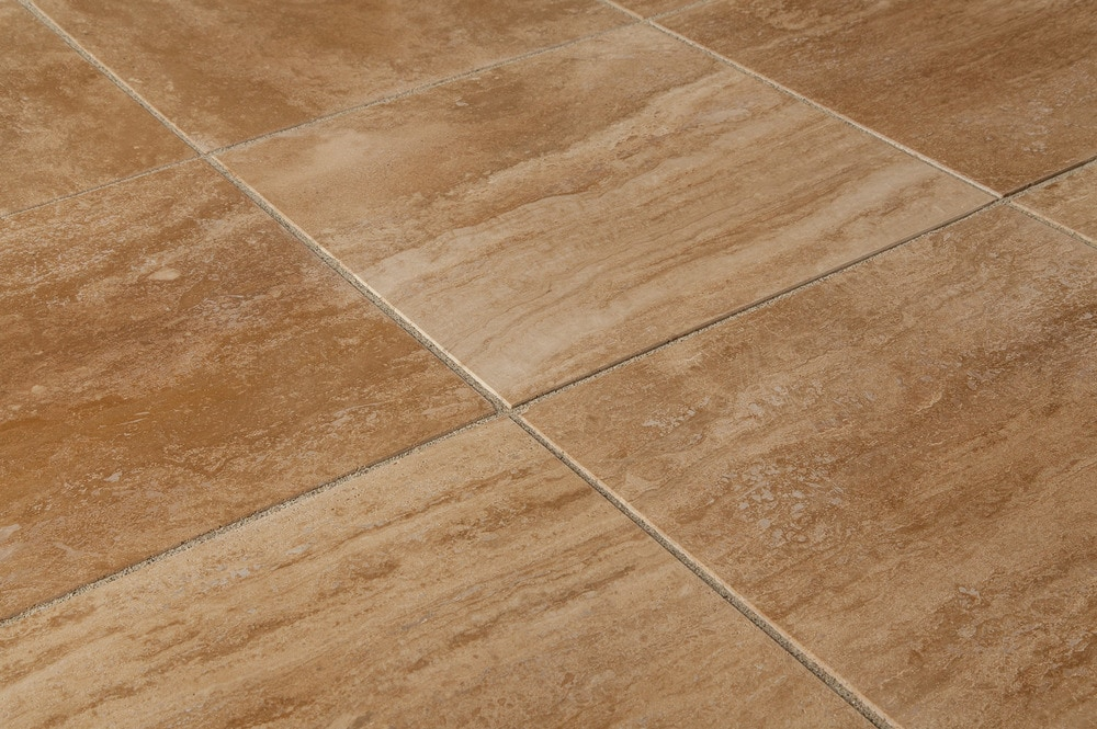 Merida travertine tiles polished cappuccino vein cut for 12x12 mexican floor tile