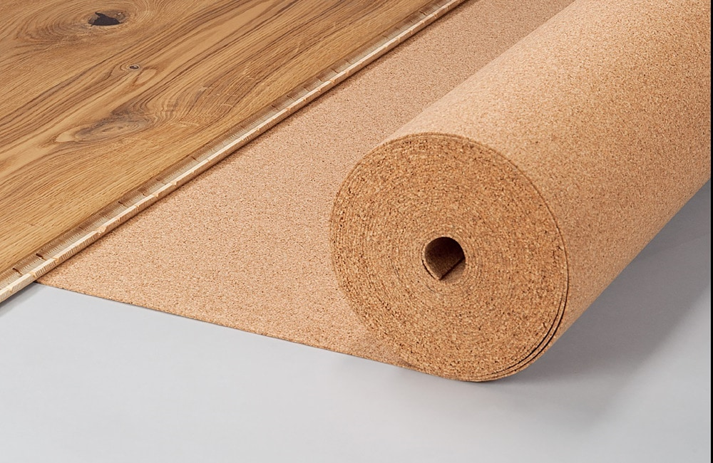 Corkinsu cork underlayment cork roll 6mm for 6mm wood floor underlay