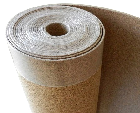 Corkinsu cork underlayment cork with vapor barrier 6mm for 6mm wood floor underlay