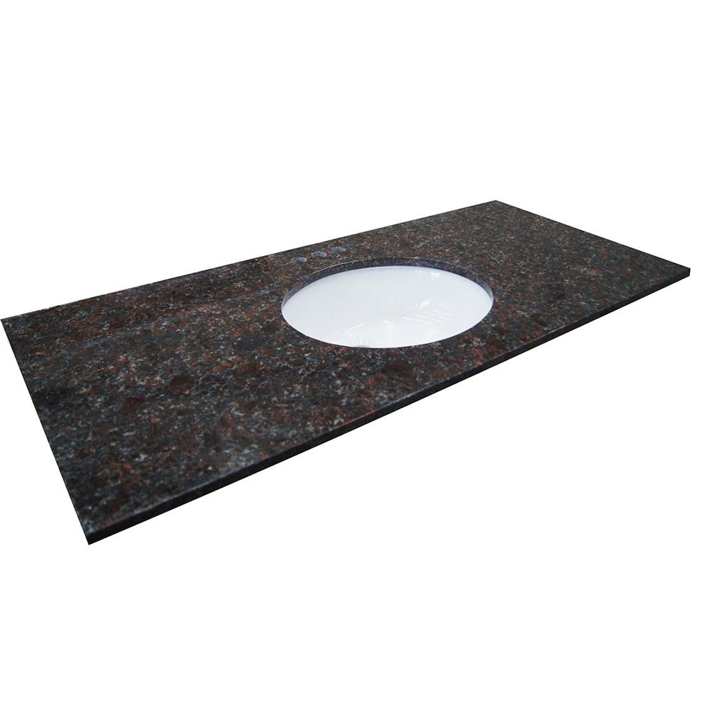 Granite Vanity Tops Product : Grafton granite vanity tops tan brown quot x