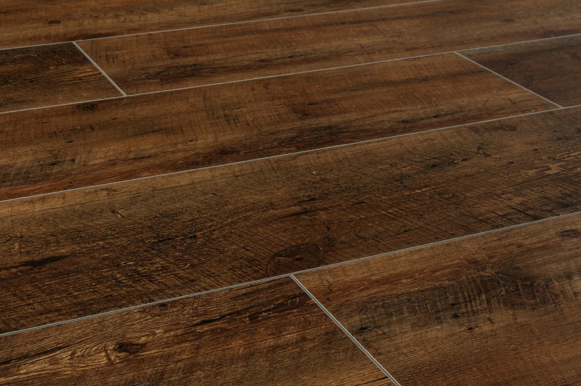 Vesdura Vinyl Planks Hdf Click Lock Country Wide Collection Zurich Rustic Walnut