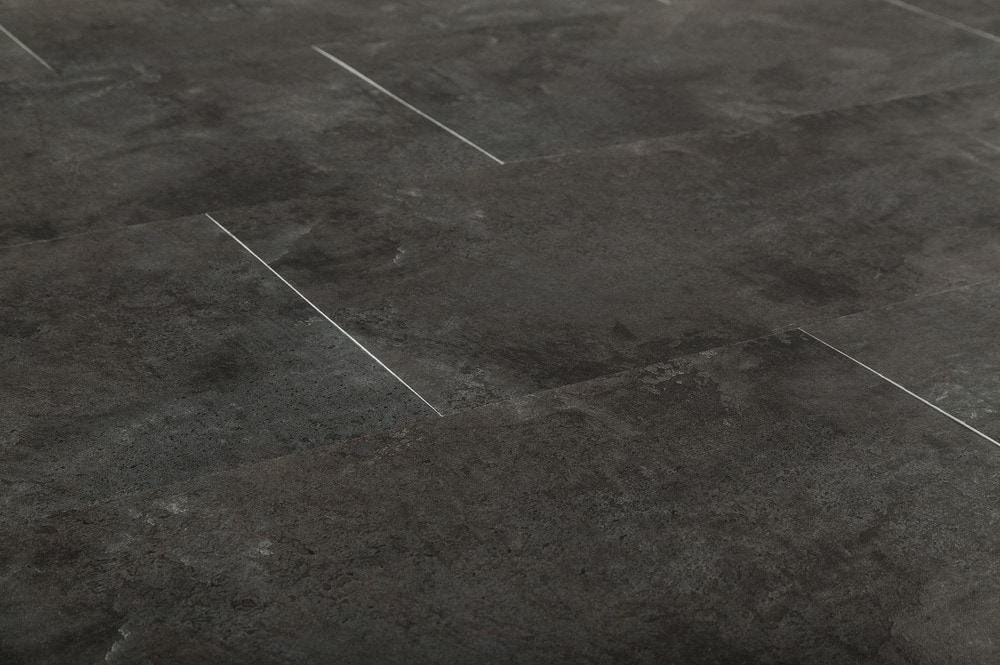Ovio Vinyl Tile 2mm Pvc Peel Amp Stick Graphite Stone