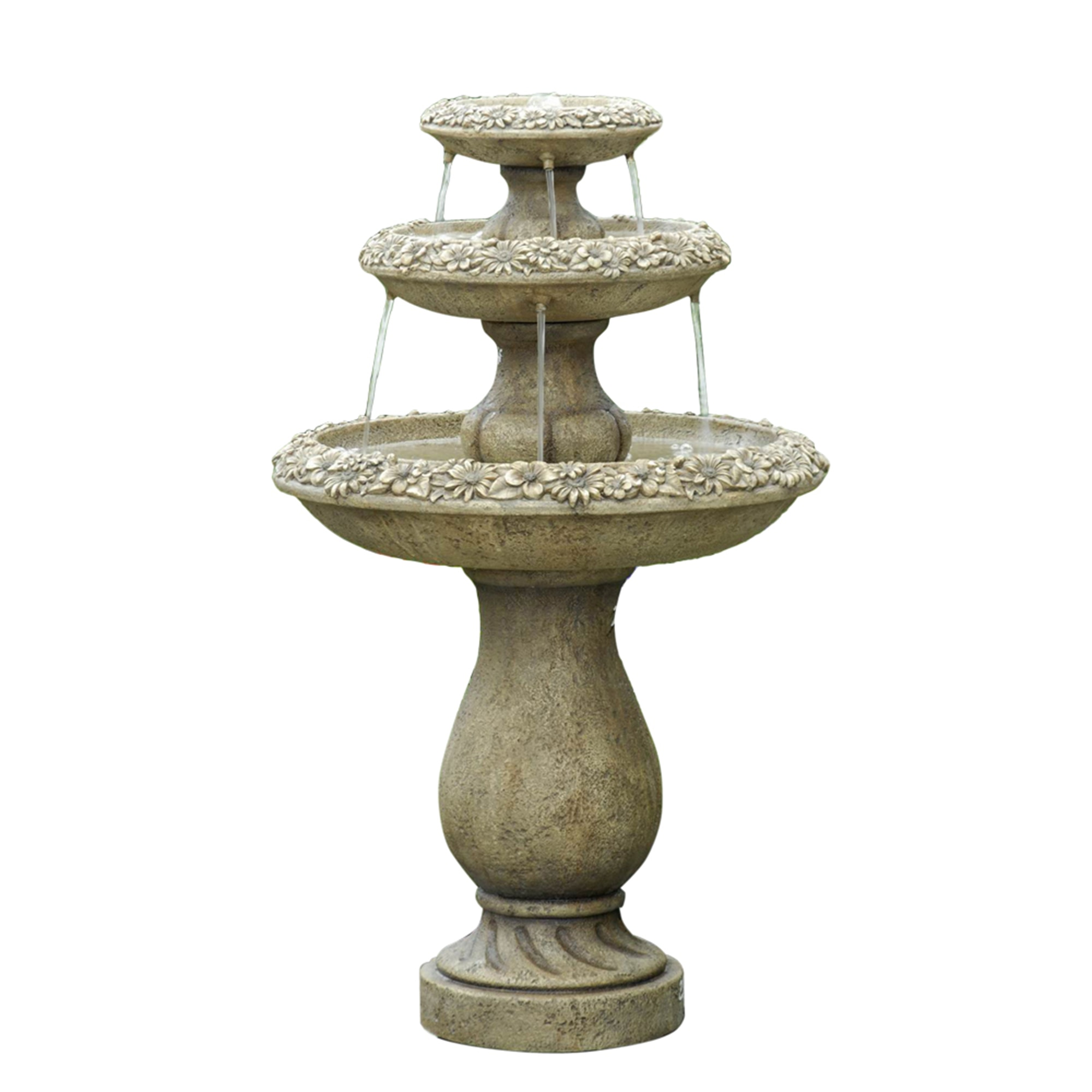 Kontiki Water Features Tiered Fountains Two Tiers