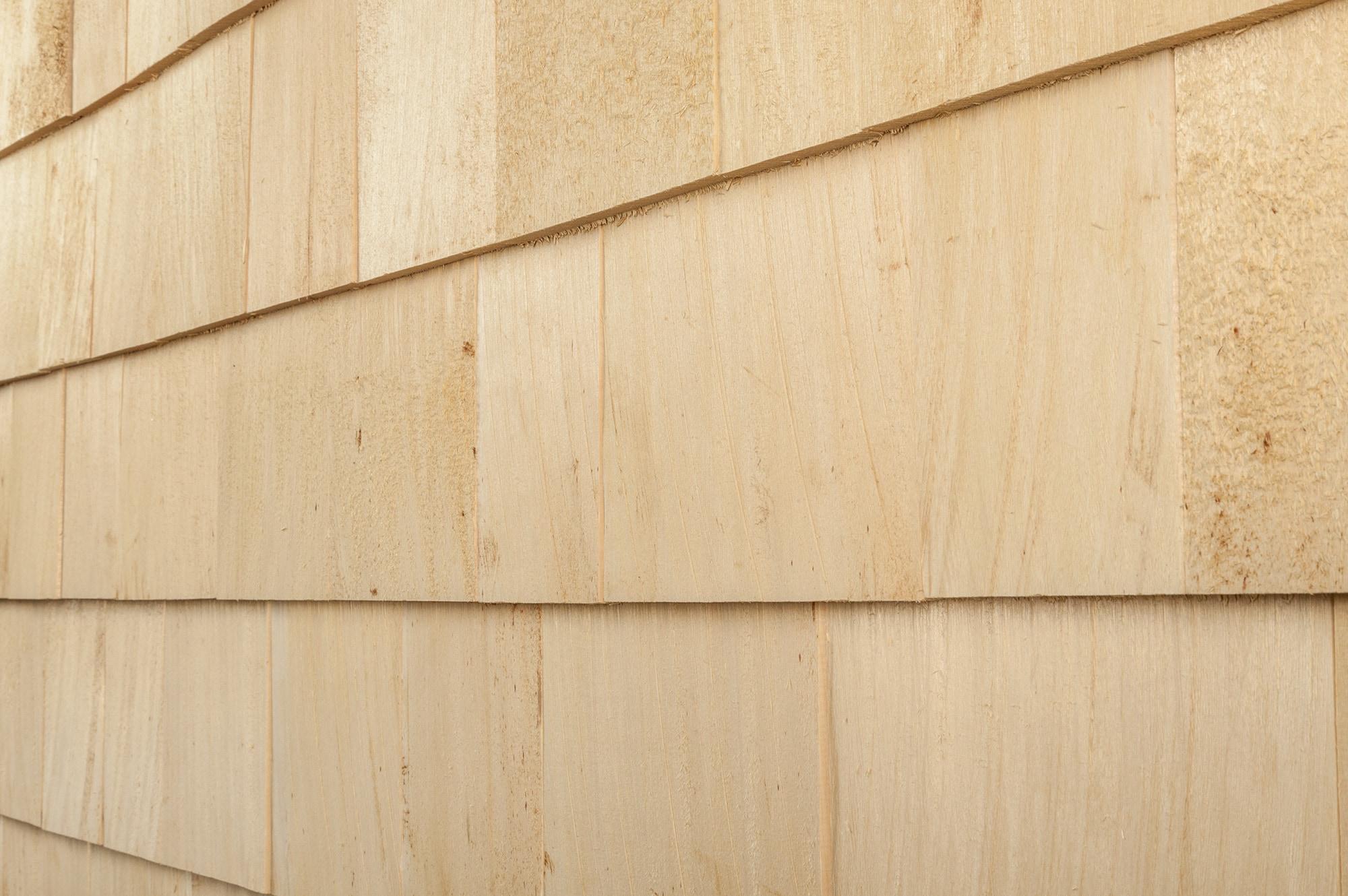 Cedar west yellow cedar siding shingles pallets r r 18 1 for Wood shingle siding cost