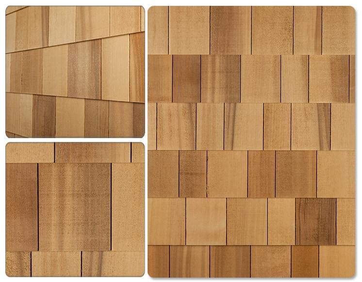 Cedar West Handcrafted Cedar Shingle Panel Collection