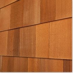Cedar West Wood Siding Handcrafted Cedar Shingle Panel Model 100896751 Wood Siding