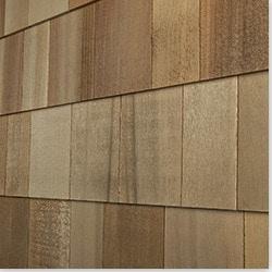 Cedar West Wood Siding Handcrafted Cedar Shingle Panel Model 100896801 Wood Siding