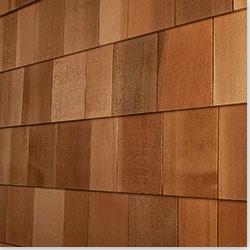 Cedar West Wood Siding Handcrafted Cedar Shingle Panel Model 100896881 Wood Siding