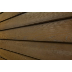 Pavilion wood siding thermo25 thermally treated cypress for Cypress siding cost