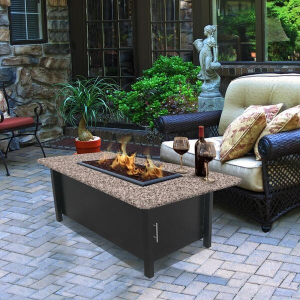 California outdoor concepts carmel coffee table fire pit for California outdoor concepts