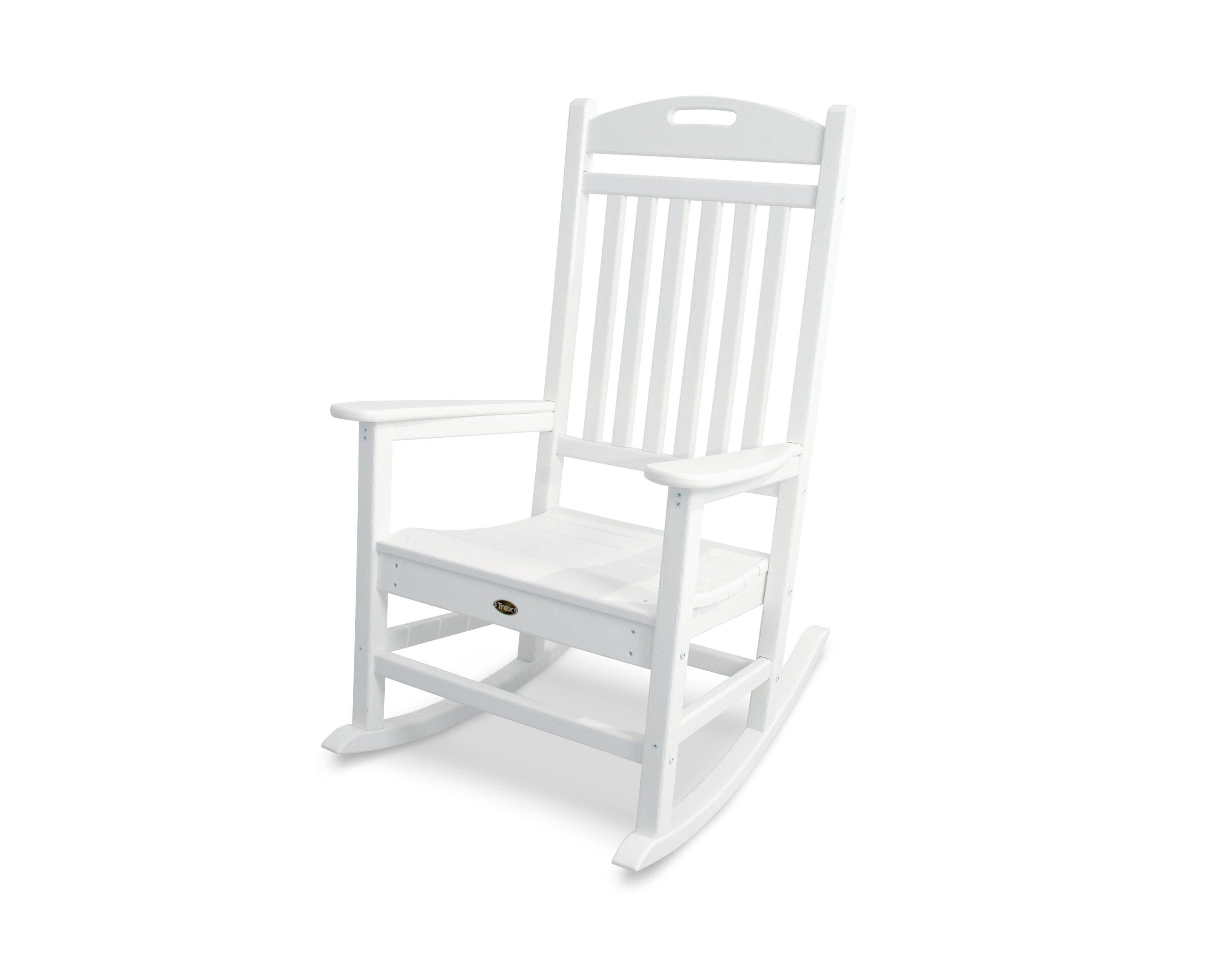 Trex Outdoor Furniture™ Yacht Club Rocking Chair 1 Piece Classic White