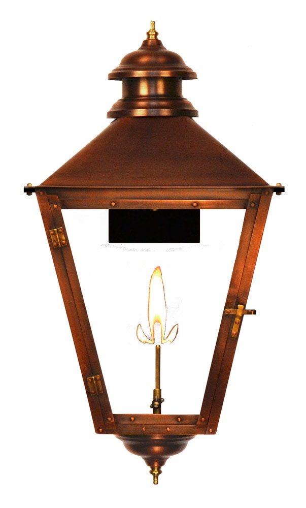 Wall Mount Propane Lamp : The Coppersmith Adams Street Outdoor Lighting 23