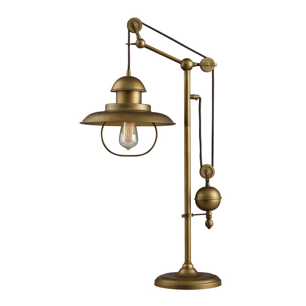 Elk Farmhouse Lamps 19x19x32 D2252 Brass Brass