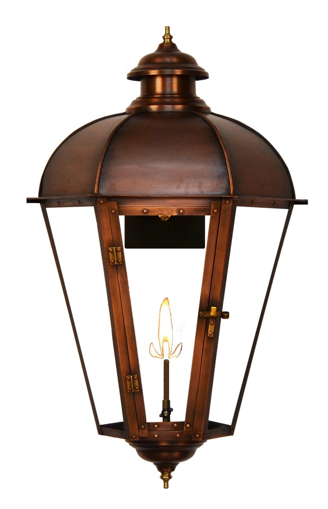 Gas Wall Mount Lanterns : The Coppersmith Joachim Street Outdoor Lighting 26