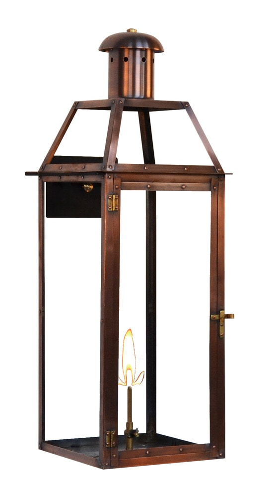 Gas Wall Mount Lanterns : The Coppersmith Oakley Outdoor Lighting 25