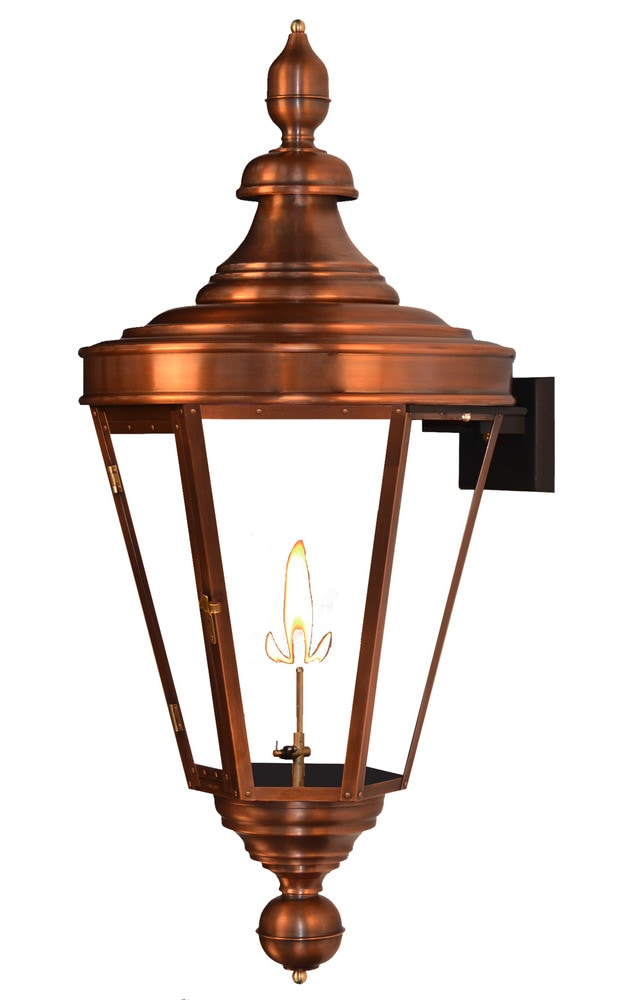 Wall Mount Propane Lamp : The Coppersmith Royal Street Outdoor Lighting 28.5