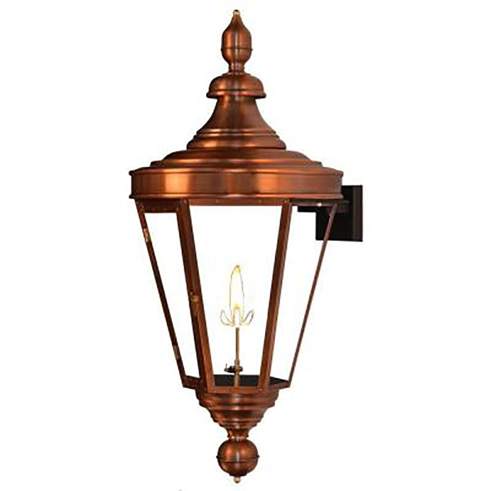 """The Coppersmith Royal Street Outdoor Lighting 35"""" H"""