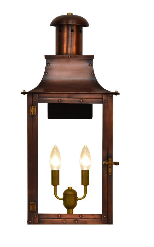Wall Mounted Electric Lights : The Coppersmith Somerset Outdoor Lighting 20