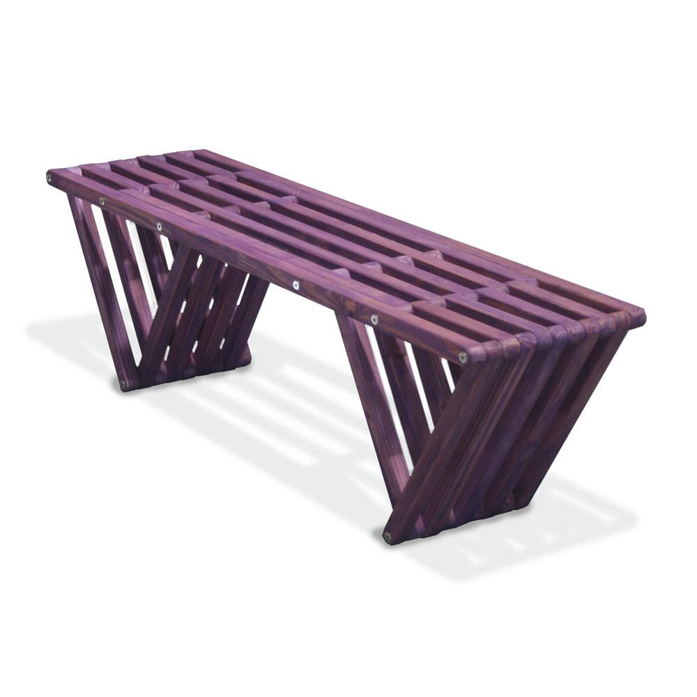 Glo Dea Bench X60 1 Bench Purple