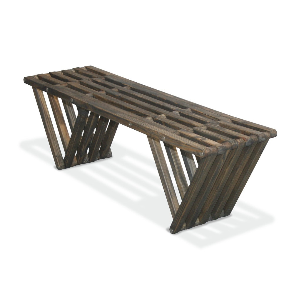 Glo Dea Bench X60 1 Bench Distressed Black