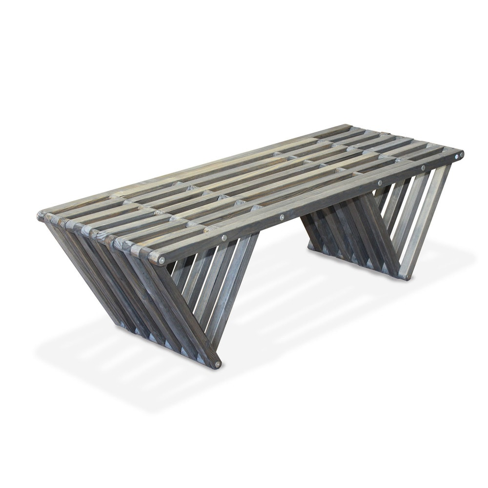 Glo Dea Glodea Bench X90 1 Bench Distressed Black