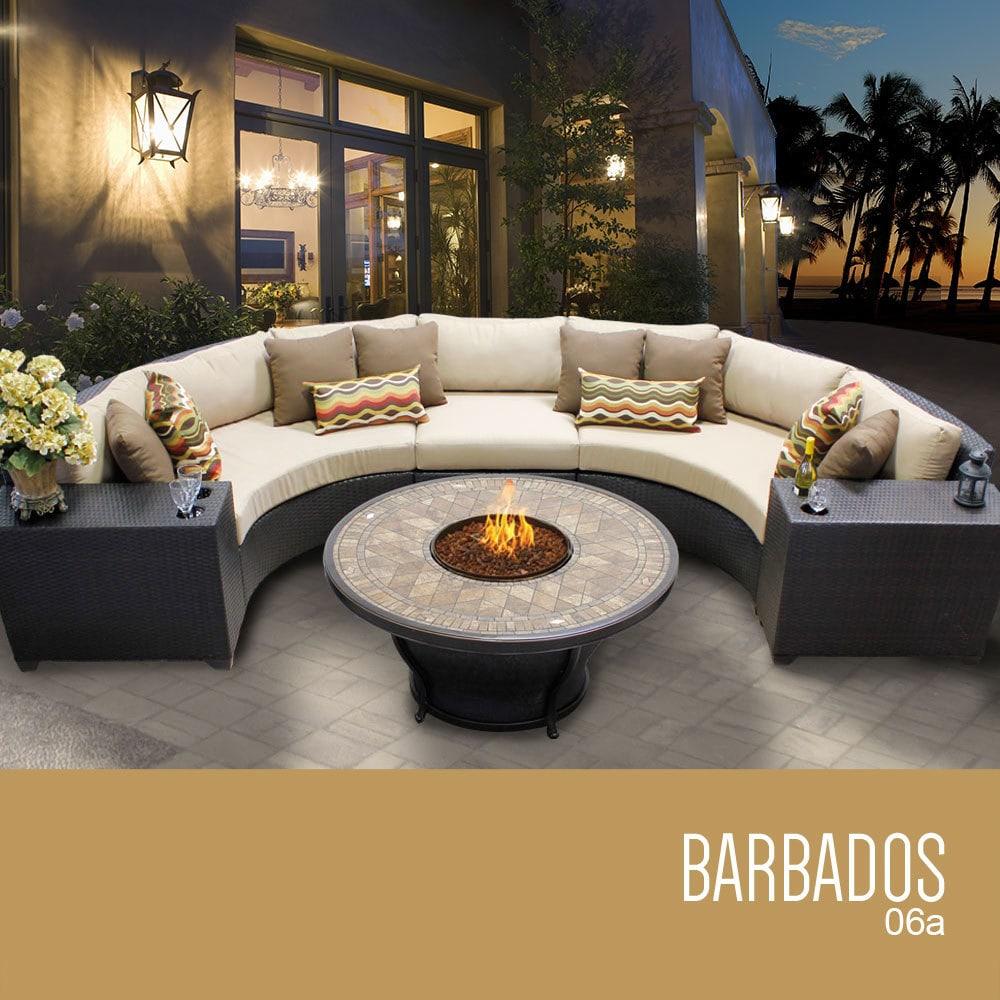 tk classics barbados collection outdoor wicker patio. Black Bedroom Furniture Sets. Home Design Ideas
