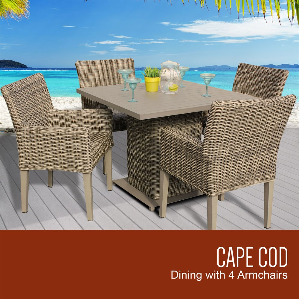 Tk Classics Cape Cod Collection Square Outdoor Patio