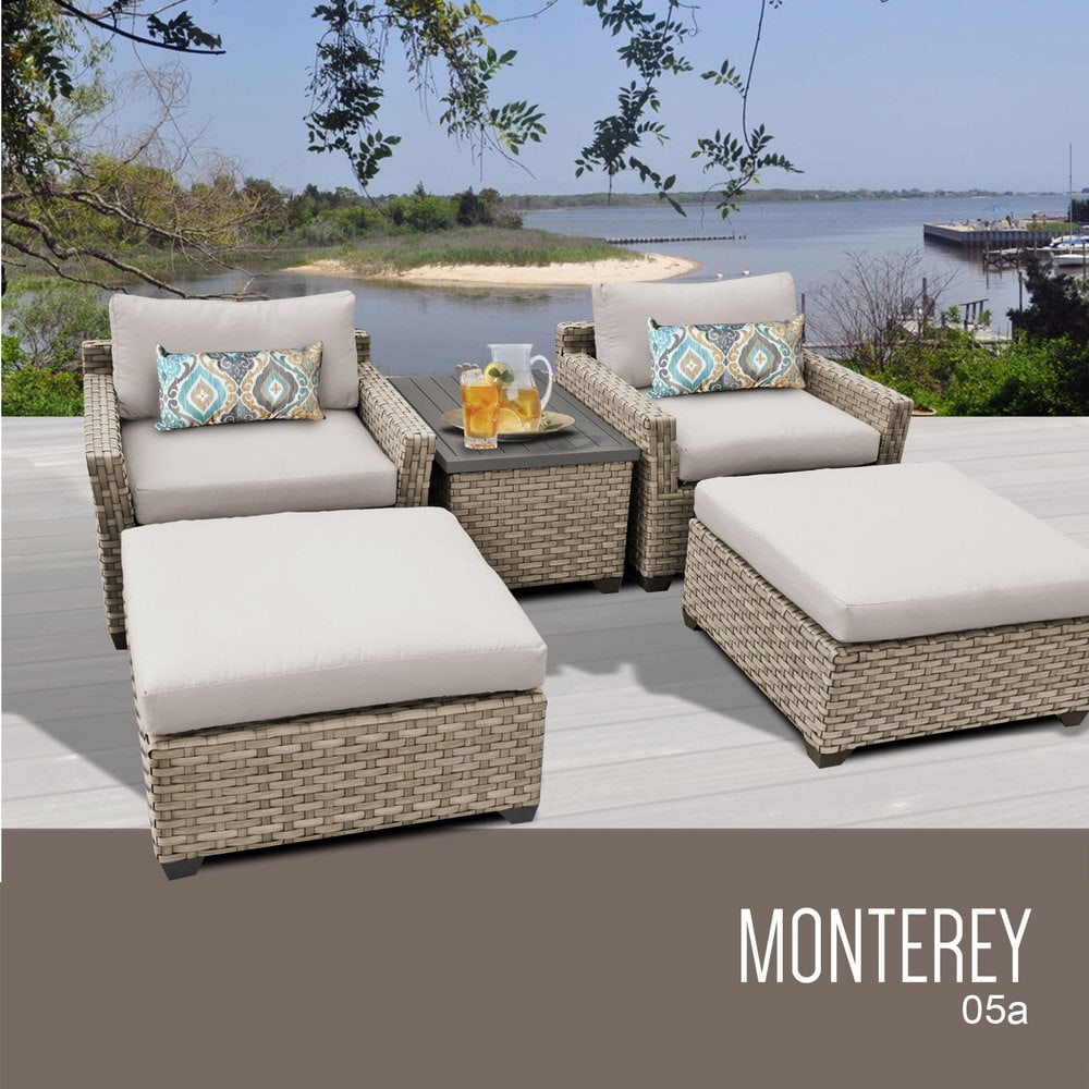 TK Classics Monterey Collection Outdoor Wicker Patio