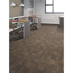 "Carpet Tiles Mohawk Odessa Collection 24"" x 24"" Carpet Tiles Type 151368301 in Canada"
