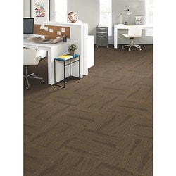 "Carpet Tiles Mohawk Basel Collection 24"" x 24"" Carpet Tiles Type 151368521 in Canada"