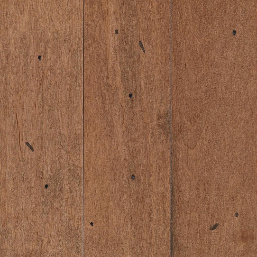 Distressed Maple Hardwood Flooring: Mohawk Greyson Distressed Amaretto / Maple / Distressed
