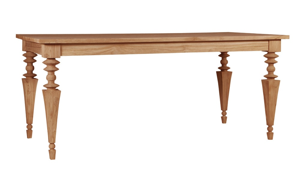 ASTA Furniture Glam Collection Dining Teak Dining Table