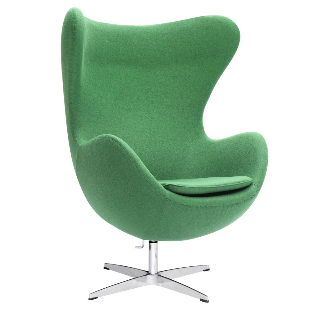Fine Mod Imports Inner Chair Fabric Accent Chair Green