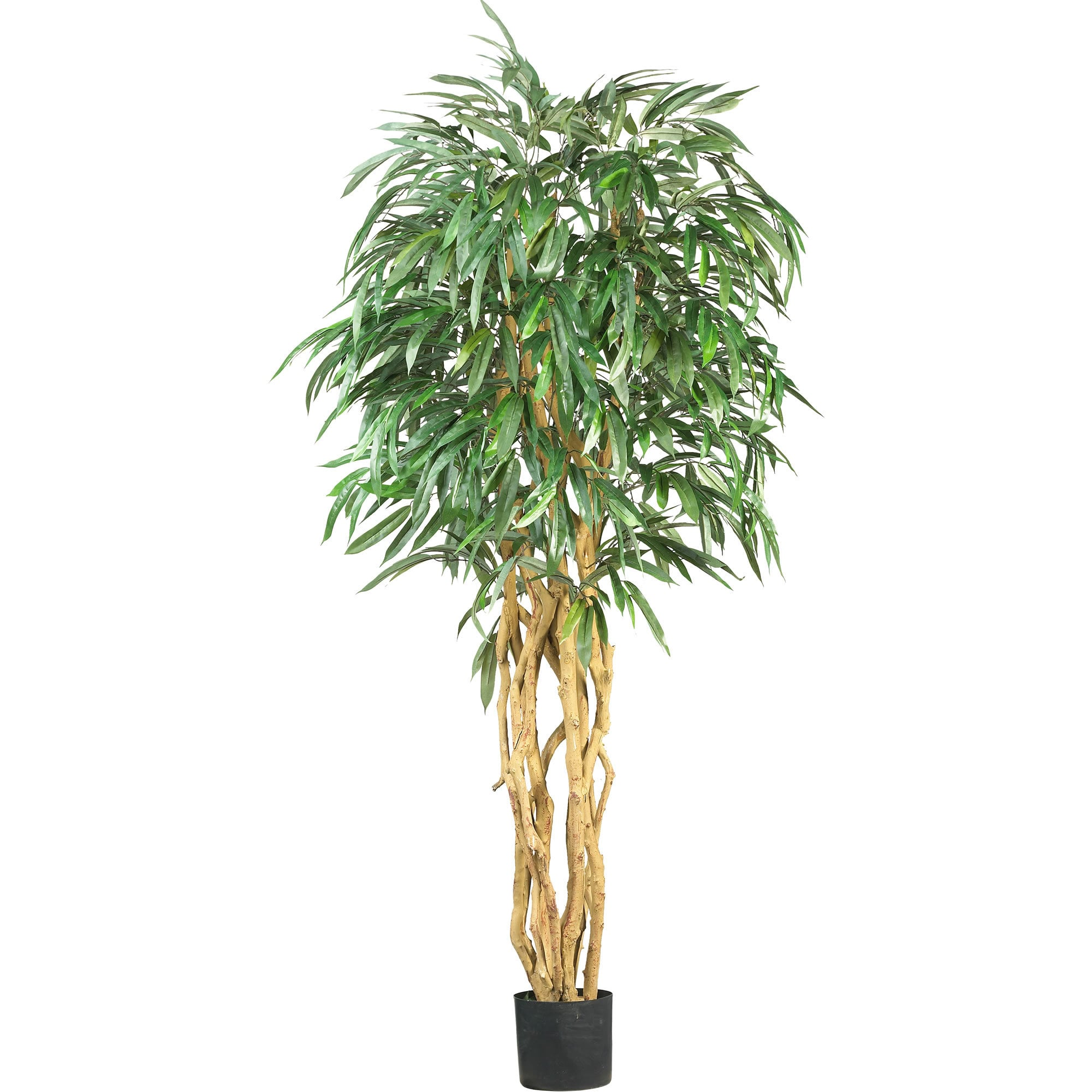Nearly Natural - 6' Weeping Ficus Silk Tree 151817031