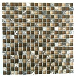 "Quartz Abolos 5/8"" x 5/8"" Kitchen Glass Mosaics Type 150161331 in Canada"