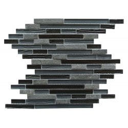 New Era Ii Abolos Linear Kitchen Glass Mosaics Type 150158741 in Canada