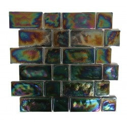 "Atmosphere Abolos 2"" x 2"" 2"" x 4"" Kitchen Glass Mosaics Type 150158731 in Canada"