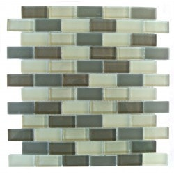 "Gbm Free Flow Abolos 1"" x 2""Β Kitchen Glass Mosaics Type 150161891 in Canada"
