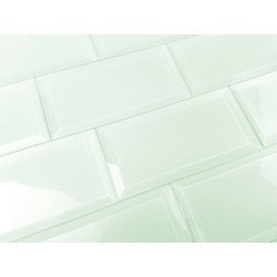 "Frosted Elegance Abolos 3"" x 6"" Kitchen Glass Mosaics Type 151293071 in Canada"