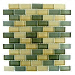 "Gbm Free Flow Abolos 1"" x 2""Β Kitchen Glass Mosaics Type 150161871 in Canada"