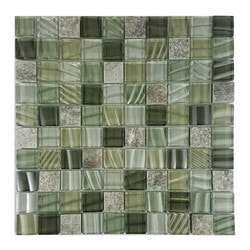 Abolos New Era II Type 150161131 Kitchen Glass Mosaics in Canada